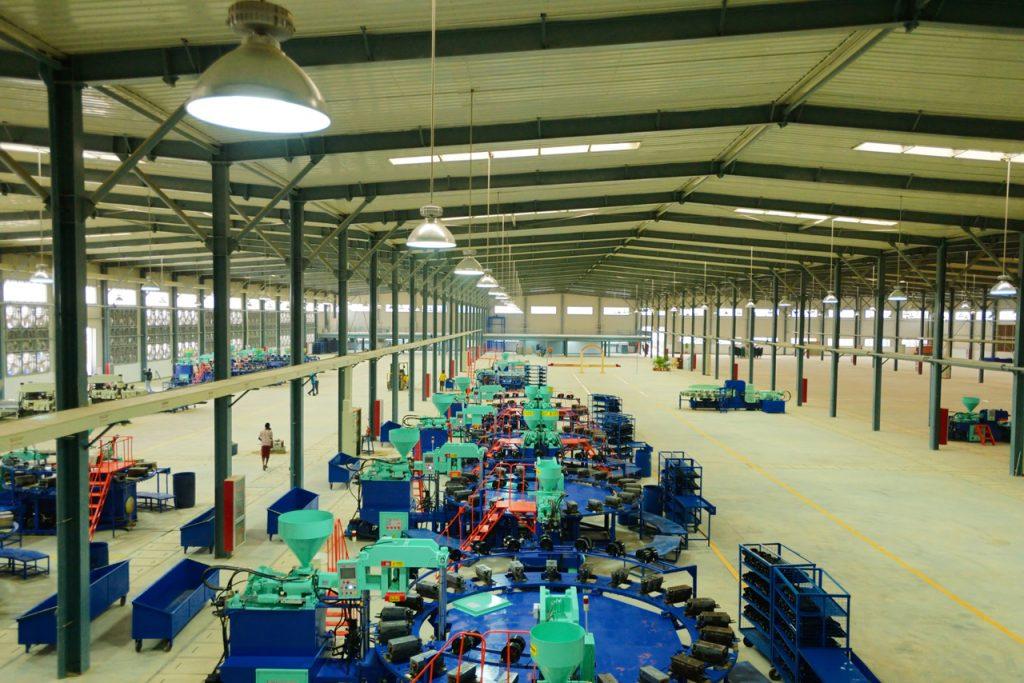 尼日利亚JIGAWA工业园BALLY厂区内
