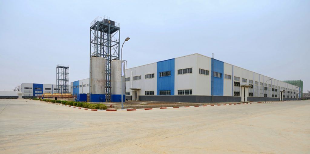 尼日利亚JIGAWA工业园BALLY厂区外1